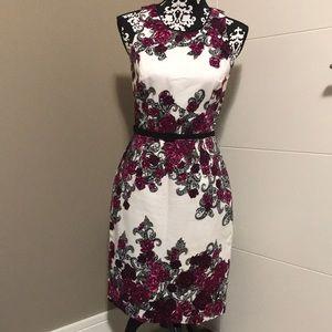 Whbm sleeveless shift dress